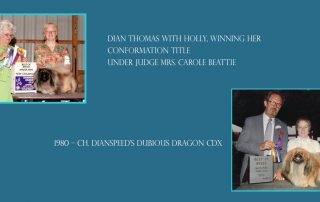 Dianspeed Home of Obedience Pekingese
