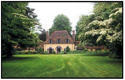 Mrs Van Beuren's Kennel - a replica of her Newport home.
