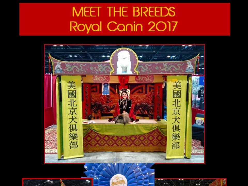 2017 Meet The Breeds booth 1st place 2