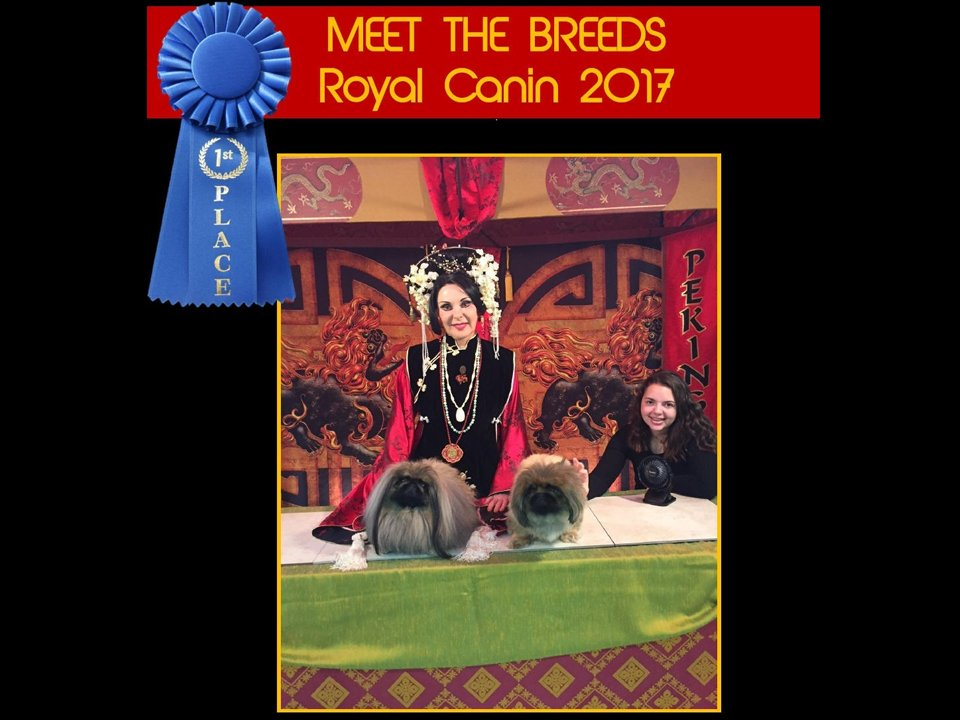 2017 Meet The Breeds booth 1st place