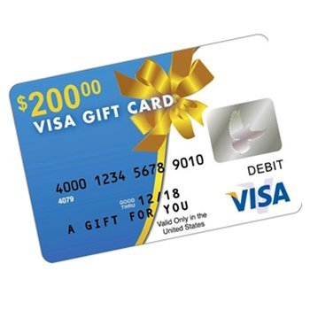 200 Visa Debit Card